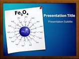 Iron Oxide Nanoparticles  PowerPoint Template