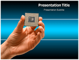 Free PPT Templates Download Microprocessor