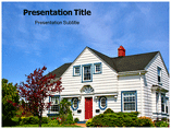 Free PPT Templates Download Private House