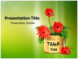 Thank You Cards  PowerPoint Template