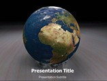 Earth Planet PowerPoint Backgrounds