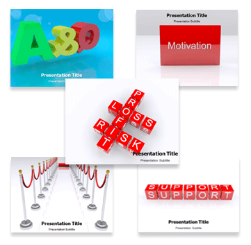 3D Animated Bundle powerpoint templates
