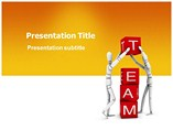 business powerpoint templates-Team Building