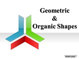 Geometric Organic Shapes PowerPoint Template