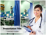 Medical Ward powerpoint template
