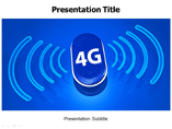 4G Wireless Technology PowerPoint Template