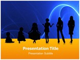 Adolescent Growth  PowerPoint Template