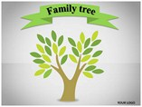 Family Tree Diagrams powerpoint templates