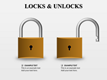 Lock and Unlock PowerPoint Template