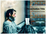 Homeless PowerPoint Template