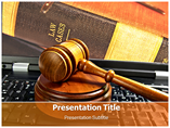 Cyber Law PowerPoint Template