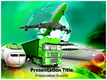 Green Transportation PowerPoint Template