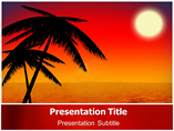 Sunrise PowerPoint Background