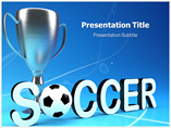 Soccer Cup PowerPoint Slide