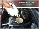 Oil Change PowerPoint Template