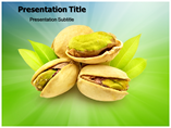 Pistachio Nuts PowerPoint Template