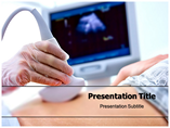 Pregnant Woman Examined PowerPoint Template
