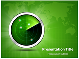 Radar Screen PowerPoint Template