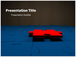 Business Puzzle Template PowerPoint