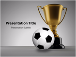 Football Champion PowerPoint Slides