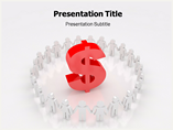 Rise of Dollar PowerPoint Background