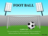 Football Powerpoint Template People & 3D Figures powerpoint templates