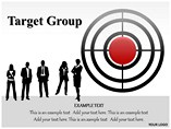 Target Group People & 3D Figures powerpoint templates