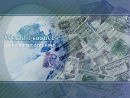 World Finance PowerPoint Template Designs