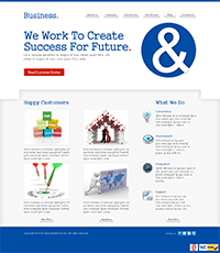 Business Partner Web Templates Web Templates powerpoint templates