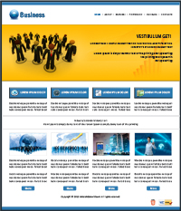 Networking Website Template Web Templates powerpoint templates