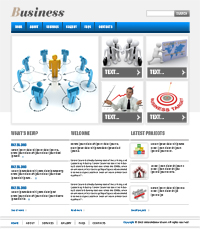 Business Channel Web Templates Web Templates powerpoint templates
