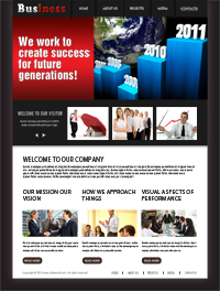 Business work plan Web template Web Templates powerpoint templates