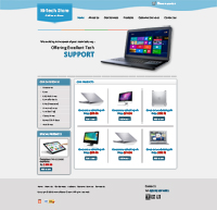 Laptop Support Web Templates Web Templates powerpoint templates
