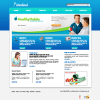 Health Fitness Web Templates Web Templates powerpoint templates