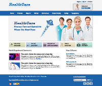 Health Care Web Templates Web Templates powerpoint templates