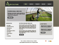 Agriculture Website Templates Web Templates powerpoint templates