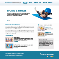 Fitness Web Templates Web Templates powerpoint templates
