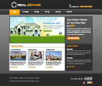 Real Estate Web Templates Web Templates powerpoint templates
