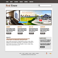 Real Estate Property Web Templates Web Templates powerpoint templates