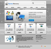 Computer System Web Templates Web Templates powerpoint templates