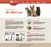 Animal Web Template Web Templates powerpoint templates