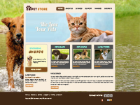 Animals and Pets Web Templates Web Templates powerpoint templates