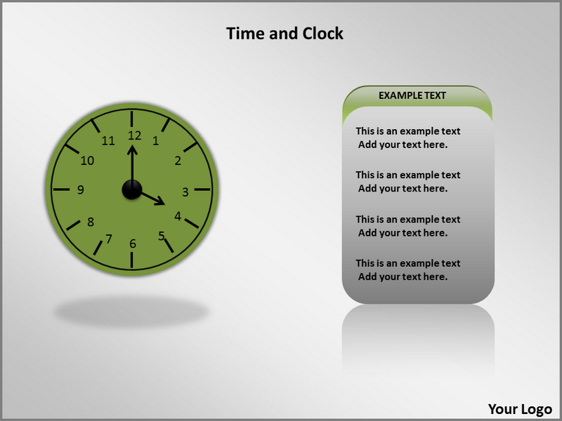 Time and Clock Animated Animations powerpoint templates