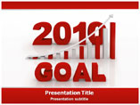 2010 Goal PowerPoint Theme