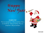 Happy New Year Animations powerpoint templates