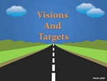 Vision and Targets Animations powerpoint templates