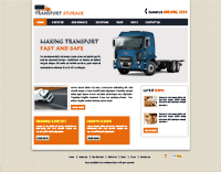 Transportation Website Templates Web Templates powerpoint templates