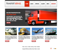 Transportation Services Web Template Web Templates powerpoint templates