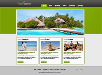 Tour and Travels Website Templates Web Templates powerpoint templates