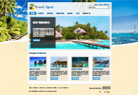Travels Holidays Website Templates Web Templates powerpoint templates